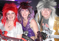 Glam Rock Theme Night